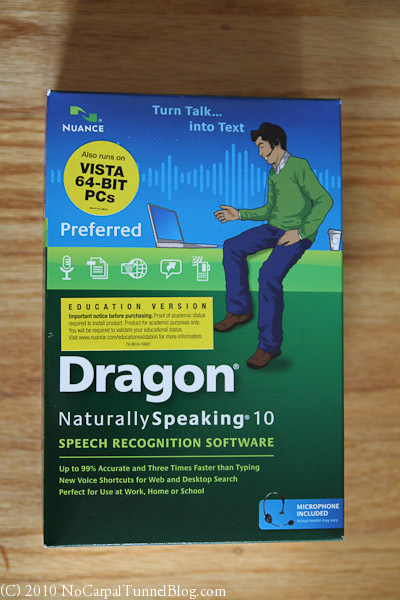Dragon Naturally Speaking 11 Preferred software
