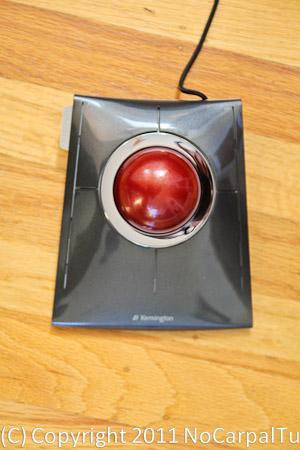 Kensington Slim blade trackball, ergonomic trackball