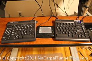 kinesis freestyle ergonomic keyboard