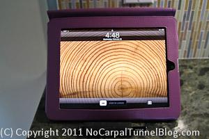 iPad, ergonomic stylus